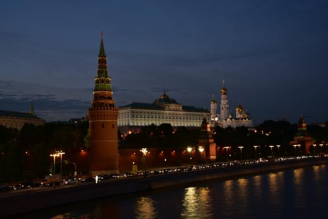 Кремль вечером